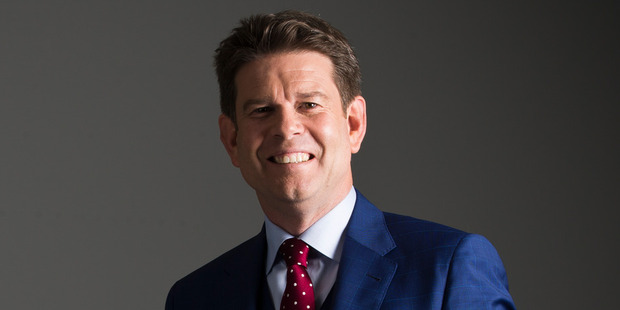 TV presenter and journalist John Campbell decided to leave MediaWorks after his show Campbell Live was axed. Photo / Greg Bowker