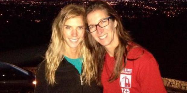 Carolyn and Rachel Lloyd. Photo / Supplied