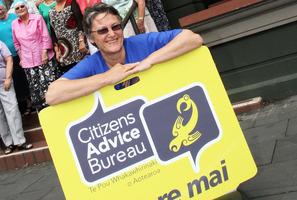 Whangarei Citizens Advice Bureau co-ordinator Moea Armstrong.