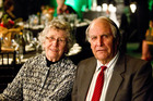 Margaret and Gerry Sainsbury at this year's Napier Port Primary Sector Awards, which were attended by 450 people. When he won the inaugural Hawke's Bay Farmer of the Year title in 1972 there was no ceremony, just a presentation at a meeting. Photo / Warren Buckland