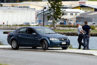 Police at the scene of an abduction on Whangarei's popular Hatea Loop. Photo / John Stone