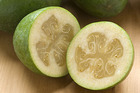 Feijoas are a guava-like fruit that grow in autumn in New Zealand. Photo / File