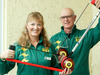 ARMAROOS: Ann Power and Allan Starrett will today display the lease of playing life 'The Black Hacksaw' offers at the Kia Toa Bowling Club in Hastings. PHOTO/Warren Buckland