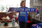 Lifelong Leicester City fan Karen Morunga, from Kaikohe, was celebrating yesterday after the