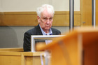 Christopher John Robinson on charges of blackmail and perverting the course of justice. Photo / NZME