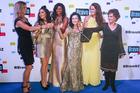 Julia Sloane, Gilda Kirkpatrick, Michelle Blanchard, Ann Batley-Burton, Angela Stone, Louise Wallace. Photo / Norrie Montgomery