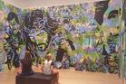 Auckland artist Matt Dowman's exhibition at the Tauranga Art Gallery. Photo/file