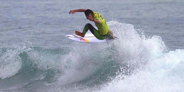 Mount College surfer Kehu Butler. PHOTO/FILE