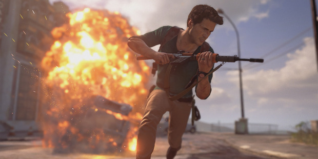A screengrab from Uncharted 4: A Thief's End.