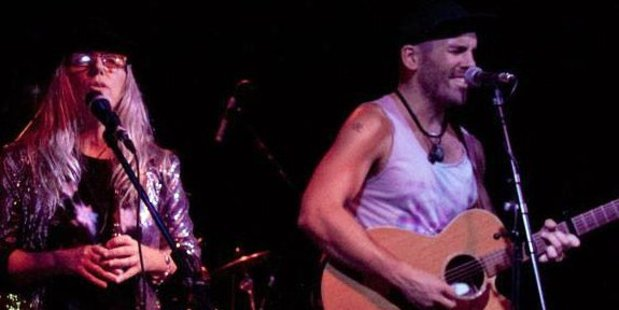 Former Masterton musician Mike Rigg and Kapiti singer-songwriter Clare Christian headline the Cross Creek Blues Club show night. PHOTO/FACEBOOK