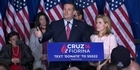 Watch: Watch: Ted Cruz drops out of race