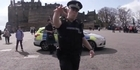 Watch: Watch: Scotland Police respond to 'running man' challenge