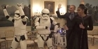 Watch: Watch: Obamas dance with Stormtroopers and R2-D2