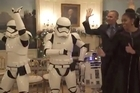 Watch: Obamas dance with Stormtroopers and R2-D2
