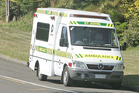 The person was taken to Auckland City Hospital in a serious condition, according to St John ambulance service.