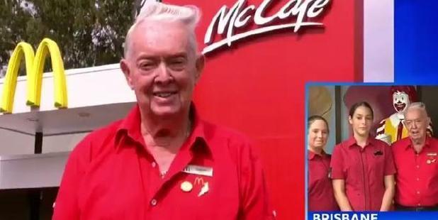 Graham Berndt is McLovin' his new job. Photo / news.com.au