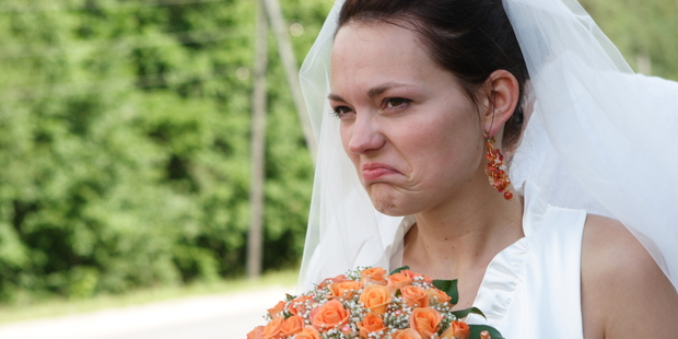 To avoid a bridezilla, keep certain thoughts to yourself. Photo / Getty