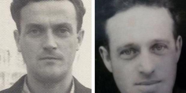 Abram Belz (left) and his younger brother, Chaim Belzhitsky; Abram last saw Chaim in 1939. Photo: Jess Katz / Washington Post