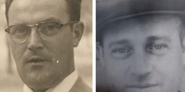 Abram (left) and his brother Chaim, both at age 32. Photo: Courtesy of Jess Katz / The Washington Post