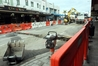 WORKS: Work is well under way along this stretch of Hastings St and foot traffic and trade is down for some businesses as a result. PHOTO/PAUL TAYLOR