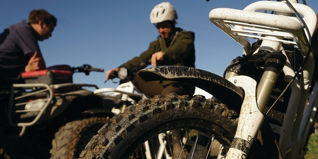 Ubco is beginning to ramp up production of its offroad electric bike.