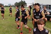 The New Zealand women's Sevens team have joined the Running Man challenge. Photo: NZ7s/Facebook