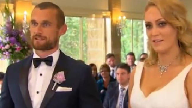 'Not what I ordered' is not the best thing to say when meeting your bride for the first time. Photo / Channel 9