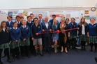 Students involved in the Steering Aotearoa pilot helped launch the programme this week at CHB College with, among others, Wairarapa MP Alastair Scott, Associate Transport Minister Craig Foss, CYE director Kelly Annand and Manawatu district mayor Margaret Kouvelis.