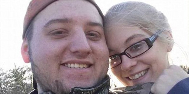 Loading Husband-to-be Frankie Rhoden and his fiancee Hannah Hazel Gilley, 20, were among those killed in Ohio. Photo: Frankie Rhoden/Facebook