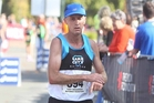 Tony Broadhead raced in his eighth Rotorua Marathon on Saturday for Lake City Athletic Club. Photo / Ben Fraser