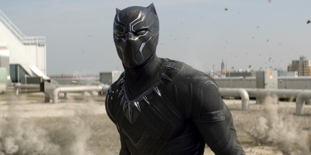 Loading Black Panther will be this era's first black superhero to command his own franchise film. Photo / Marvel