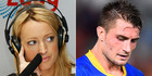 Australian radio host Jackie O has apologised on air for her hurtful remarks about Kieran Foran. Photos / Getty Images