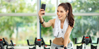 Judging by all the photos on social media, the gym selfie isn't going away any time soon. Photo / iStock