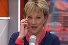Hilary Barry loses composure during an episode of The Paul Henry Show. Photo/YouTube