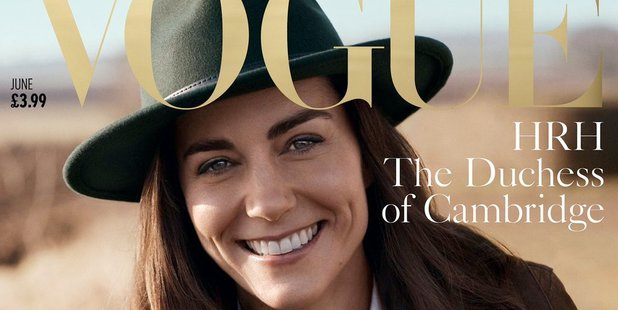 Kate Middleton will appear on the cover of the magazine's June issue. Photo / Kensington Palace Twitter
