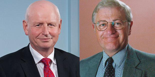 Sir Graeme Harrison and Tim Ritchie.