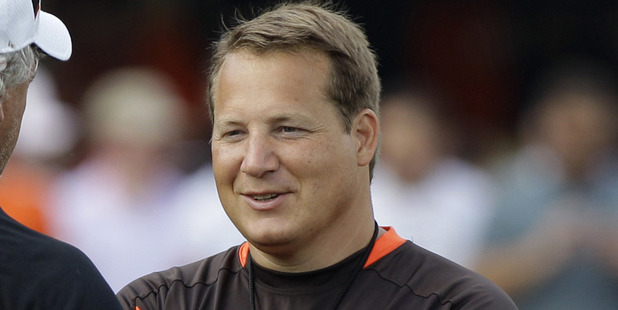 Loading Eric Mangini was impressed by what he saw at the Warriors. Photo / AP