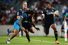 Waisake Naholo broke his leg in the Highlanders' loss to the Blues in round one. Photo / Getty