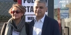 Watch: Watch: Sadiq Khan at the voting booth ahead of election