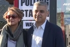 "They've pressed the flesh and worn the hard hats. Now London is on track to become the first European capital to elect a Muslim mayor in a day of elections dubbed ""Super Thursday"" across the United Kingdom."