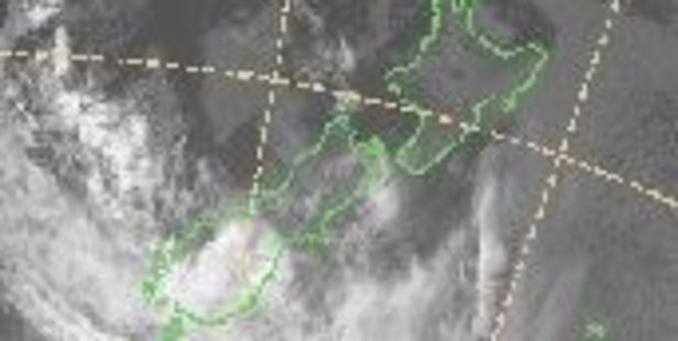 A severe weather warning is in place as the risk of thunderstorms hover over Fiordland and the Westland ranges. Photo / MetService
