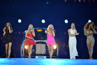The Spice Girls perform during the Closing Ceremony of the London 2012 Olympic Games. Photo / Getty Images