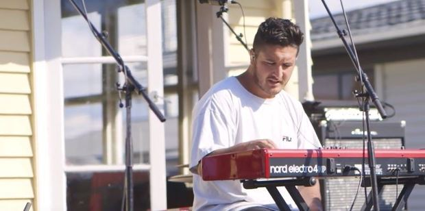 Loading Matiu Walters of Six60. Photo / YouTube