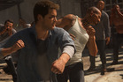 Nathan Drake gets into a bruising prison fist fight in the introduction for Uncharted 4: A Thief's End.