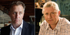 Mark Weldon, left, and Mark Jennings. Jennings believes the outgoing MediaWorks chief was not a cultural fit at the company.