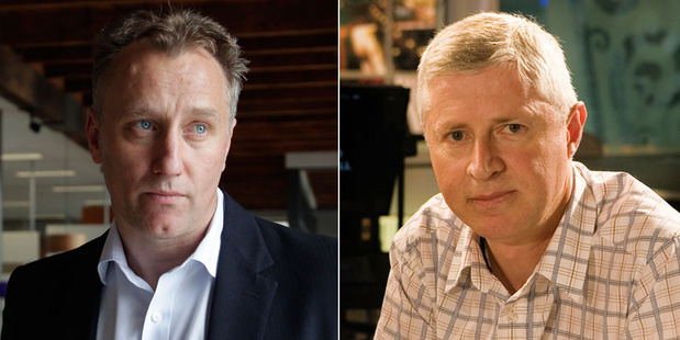 Loading Mark Weldon, left, and Mark Jennings. Jennings believes the outgoing MediaWorks chief was not a cultural fit at the company.