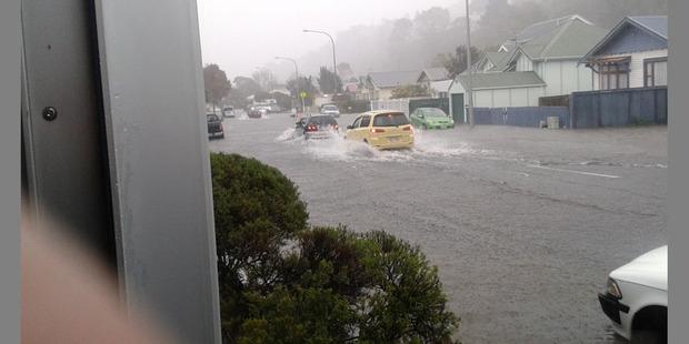 Floods have swamped Wellington.