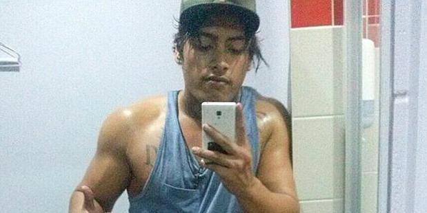 Facebook image of Armstrong Renata from Coombabah who has been charged over the one punch death of Cole Miller.