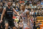 Jerome Randle led the Adelaide charge against the Breakers. Photo / Michael Craig