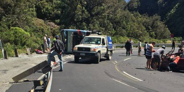 Ms Lees said the bus went into corners too quickly and began to lose control on the road. Photo / Supplied